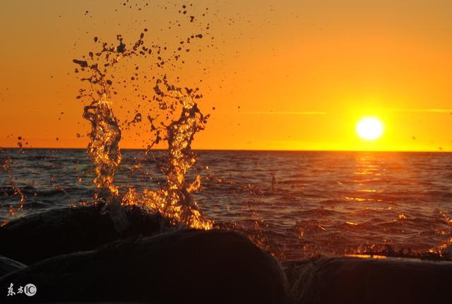 夕阳优美励志句子简短【关于夕阳的励志句子简短】